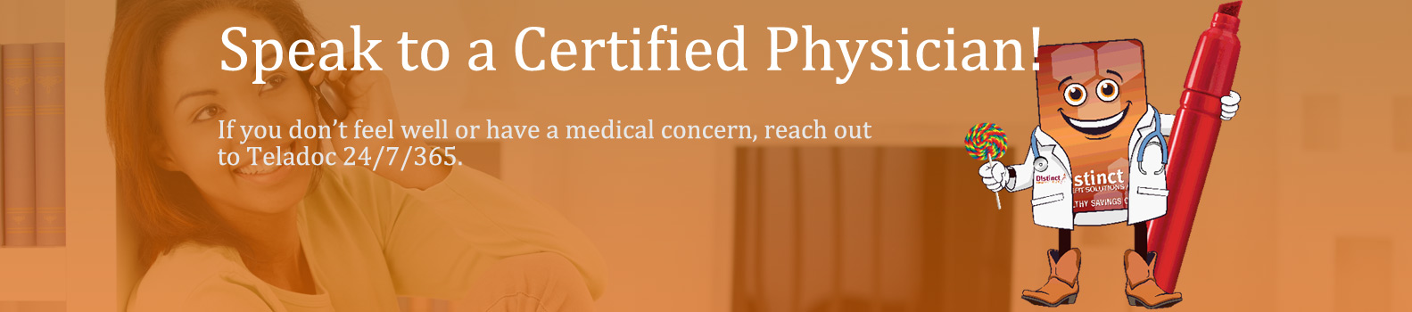 Speak to a certified physician!